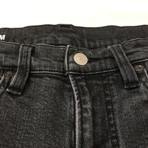 Muji Jeans - MUJI Men's Slim Jeans Black 29
